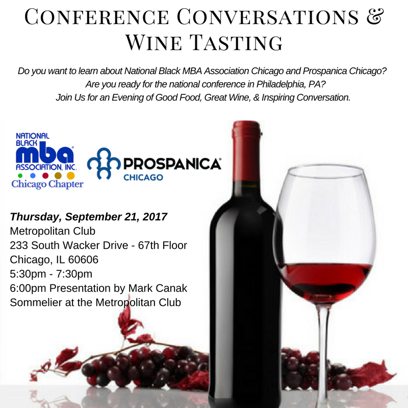 Conference Conversations and Wine Tasting 2017